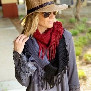 LAST ONE! Color Black Infinity Scarf